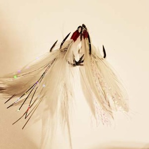 Feathered Treble Hooks